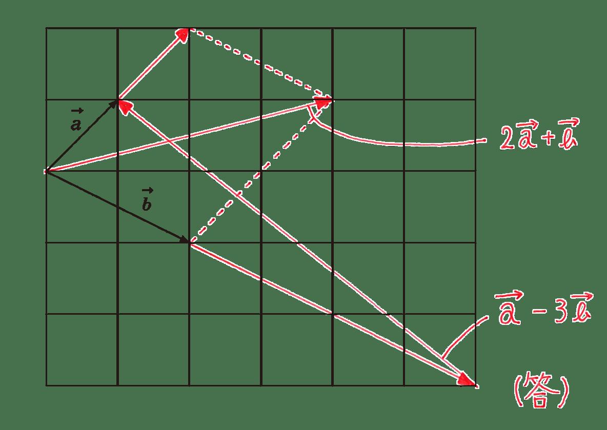 高校数学B ベクトル5 練習 答え