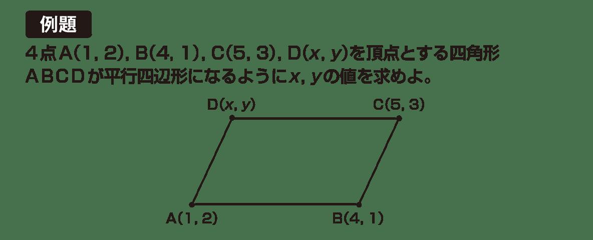 高校数学B ベクトル9 例題