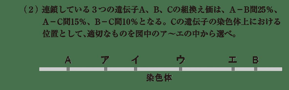 高校 生物 生殖11 演習1 演習1(2)