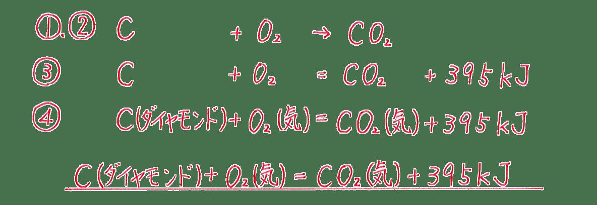 高校化学 化学反応とエネルギー2 練習 答えあり