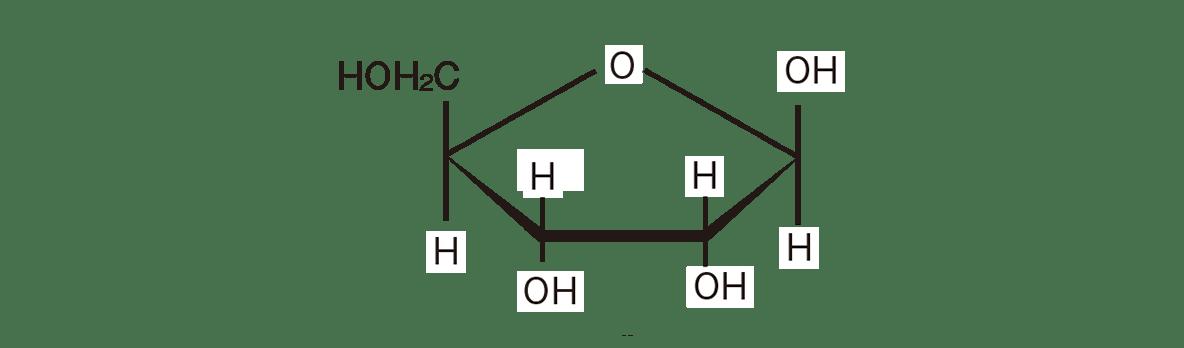 高校 化学 6章 2節 7 1 右上の構造式のみ