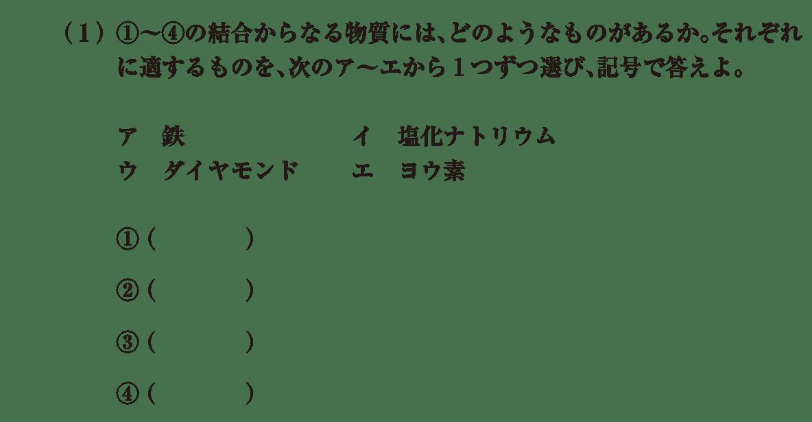 高校 理科 化学基礎 演習2 (1)答えなし