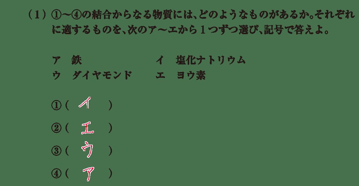 高校 理科 化学基礎 演習2 (1)答えあり