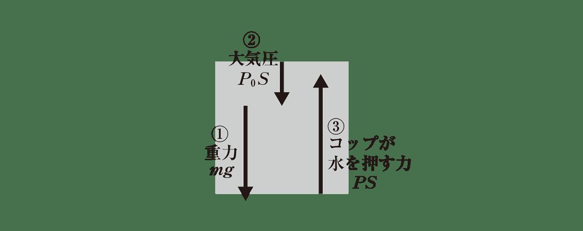 高校物理 運動と力45 右の図