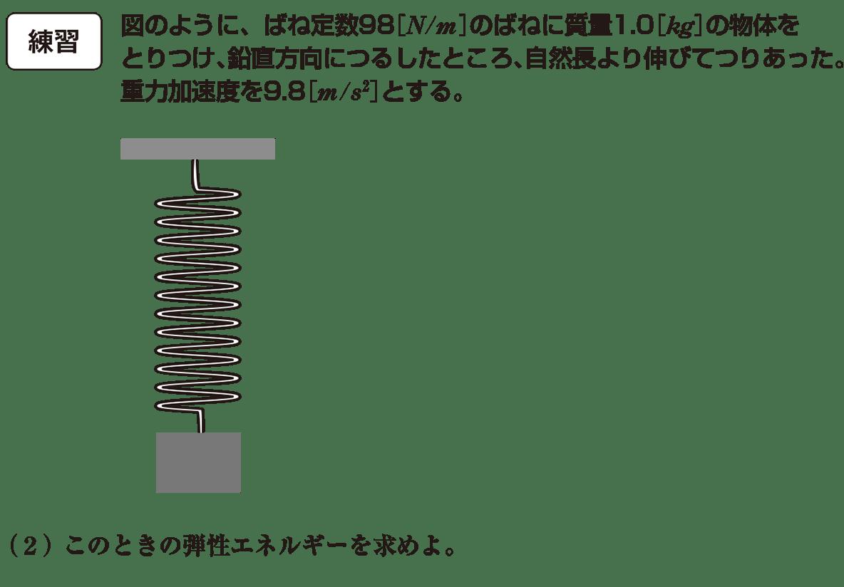 高校物理 運動と力55 練習 問題文と図(書き込みなし)と(2)