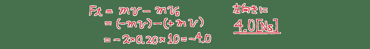 高校物理 運動と力59 練習1 (1) 図の右側全て
