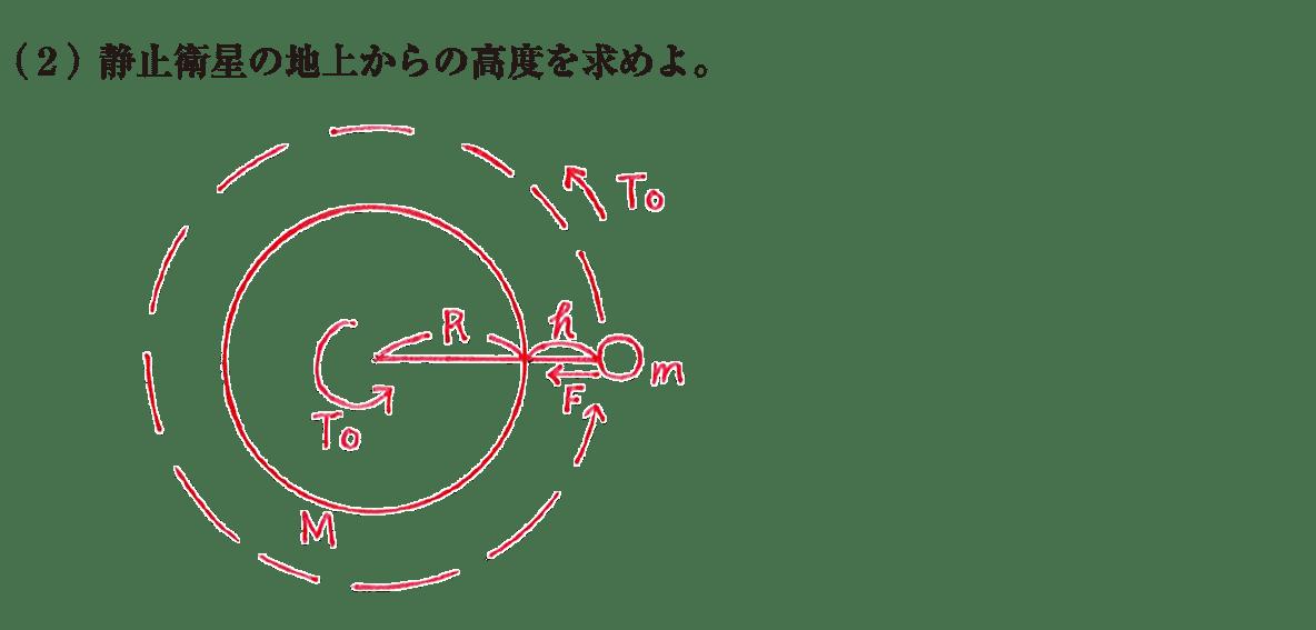 高校物理 運動と力78 練習(2)と図