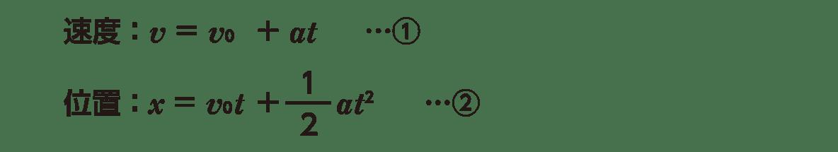 運動と力8 ポイント1 1~2行目のみ