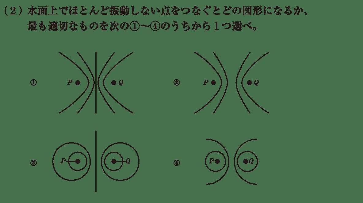 波動28 練習 (2)問題文 選択肢