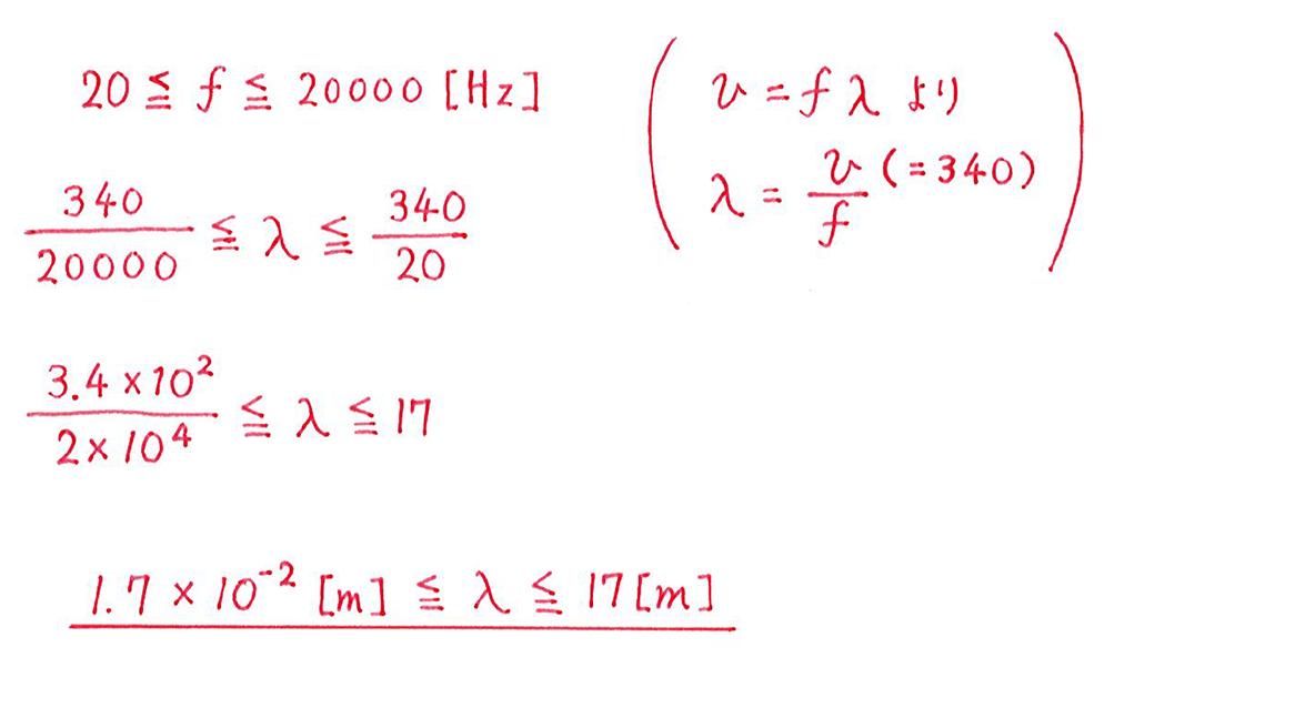 高校物理 波動1 練習 解答