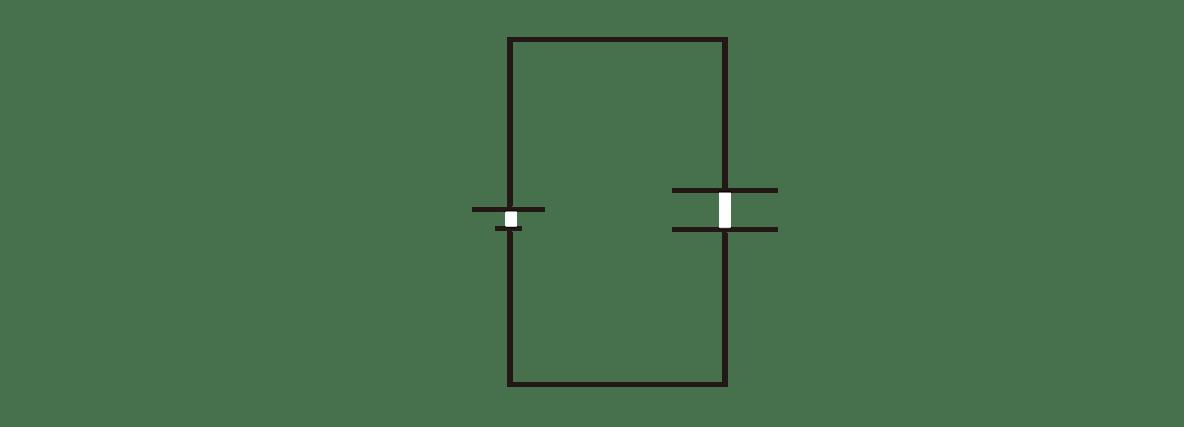高校物理 電磁気15 ポイント1 右の図 +とそれらの矢印全て、+Q、−Qカット