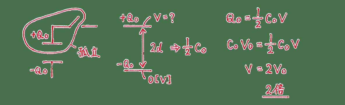 高校物理 電磁気15 練習 (3) 解答全て