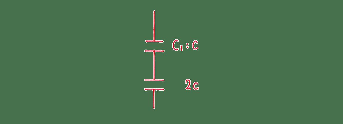 高校物理 電磁気18 練習 (1) 左の手書き図
