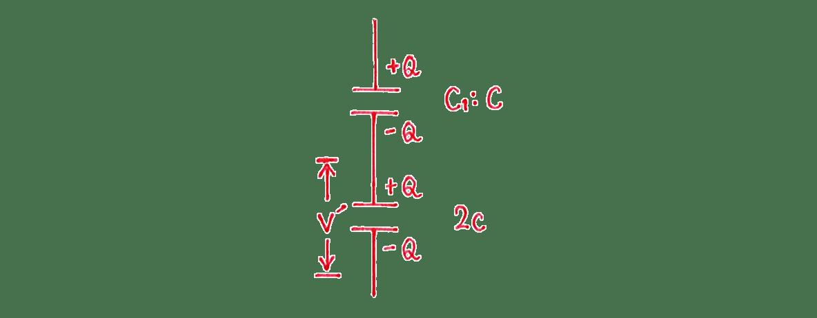 高校物理 電磁気18 練習 (2) 左の図