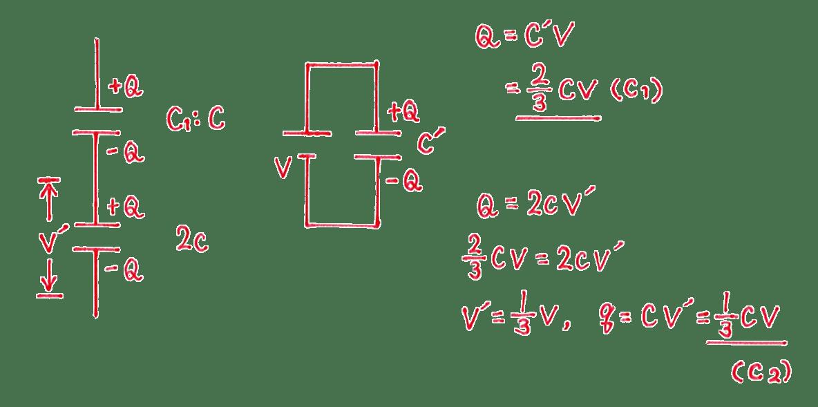高校物理 電磁気18 練習 (2) 答えすべて