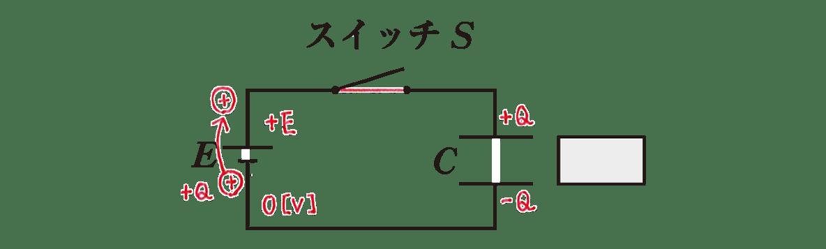 高校物理 電磁気21 練習 図 赤字の書き込みあり 熱:H=?とその矢印の部分のみカット