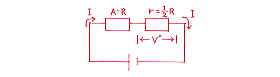 高校物理 電磁気28 練習 (3) 図