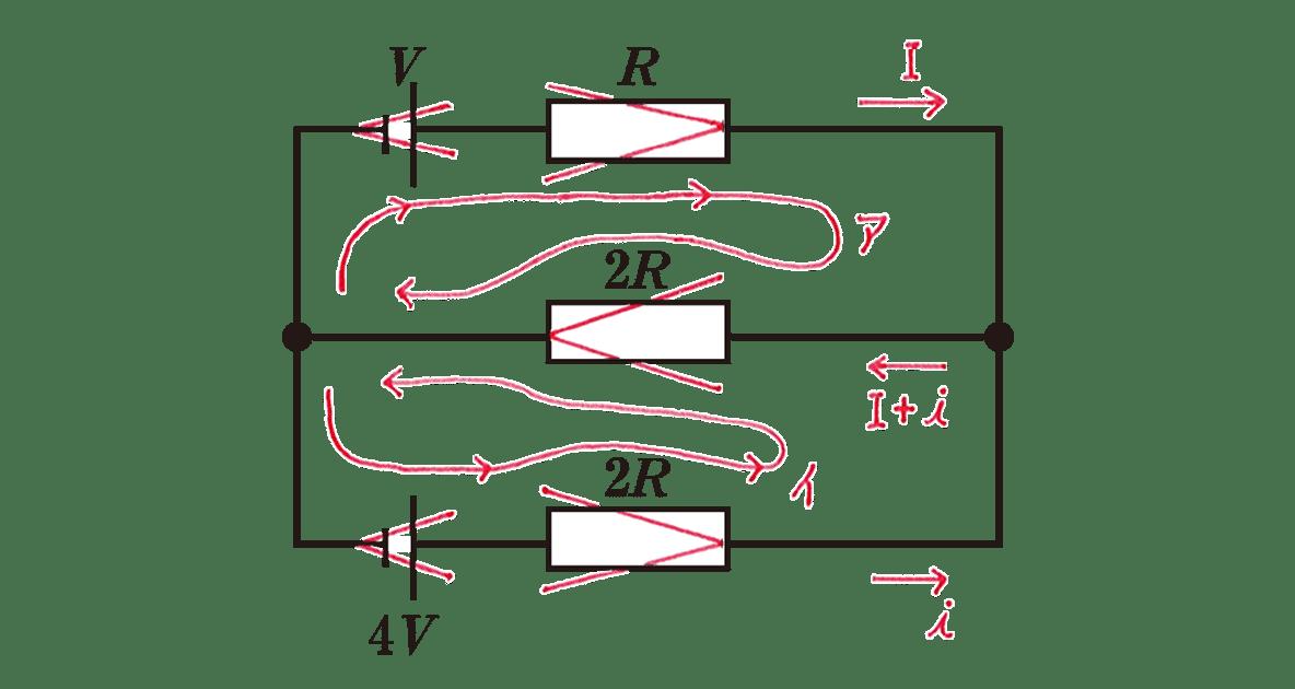 高校物理 電磁気32 練習 書き込みアリ図
