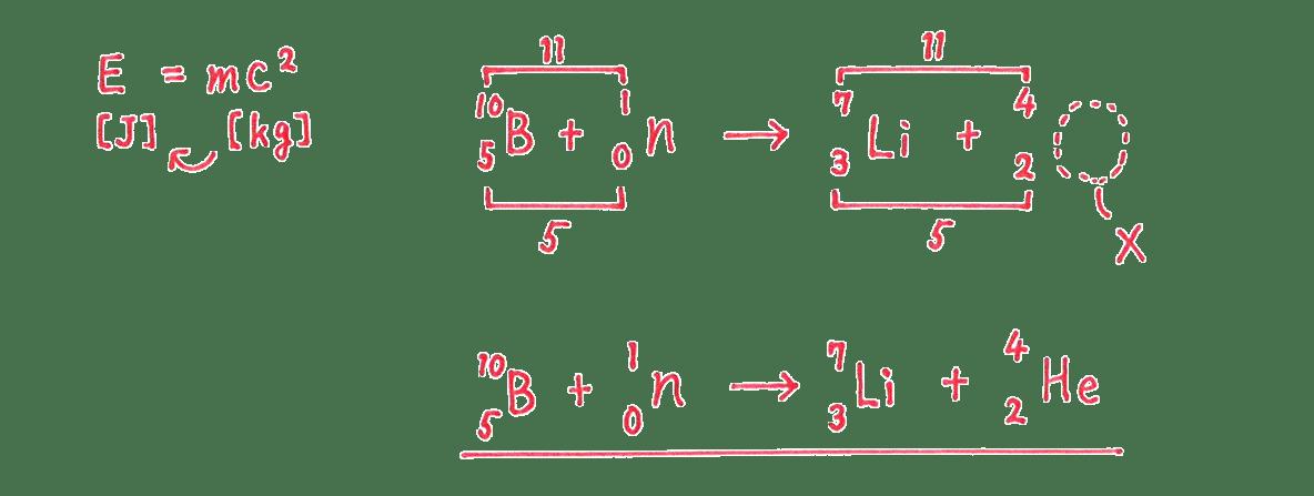 高校物理 原子15 練習 (1)答え