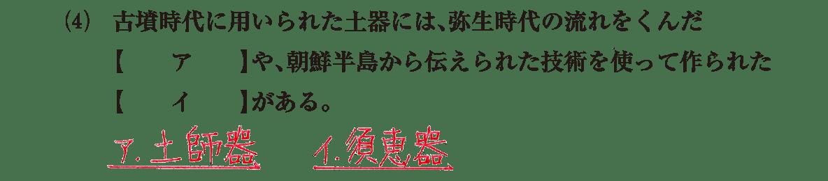 古墳文化3 問題1(4)