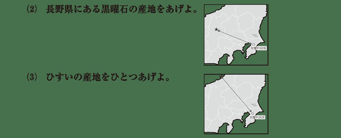 縄文時代3 問題2(2)・(3) 問題
