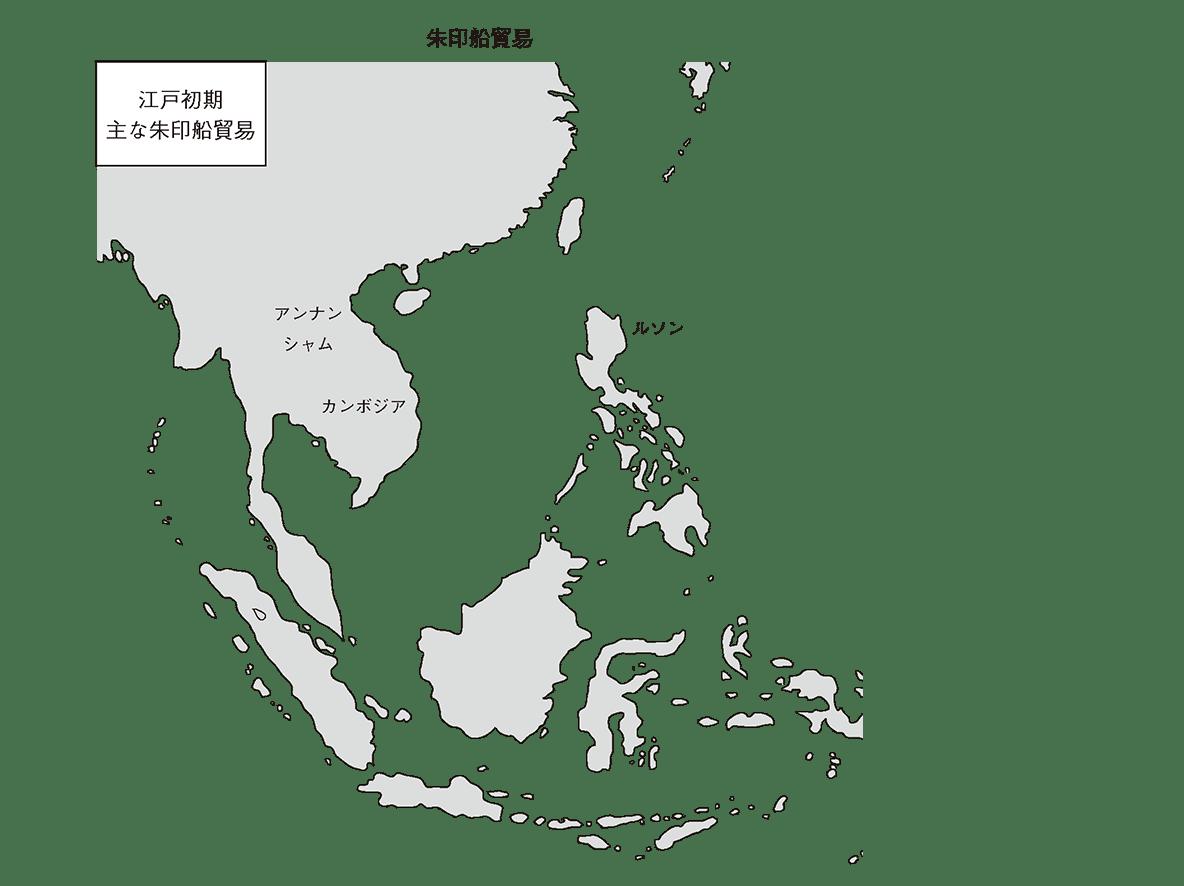 近世19 ポイント1 地図