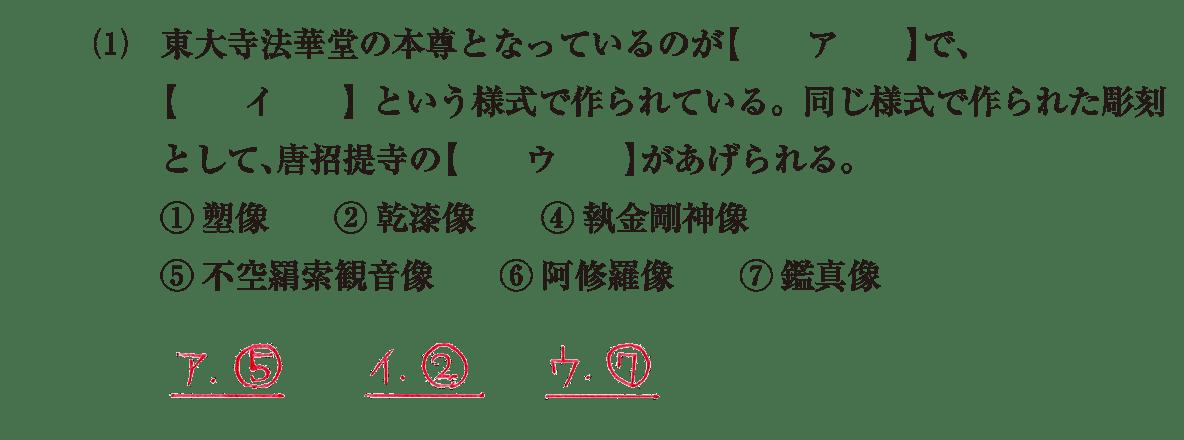 原始・古代文化12 問題1(1) 解答