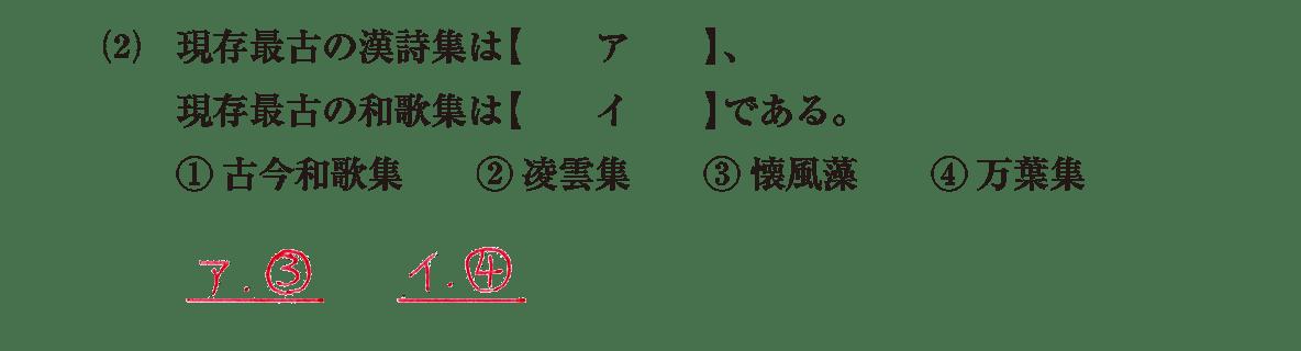 原始・古代文化12 問題1(2) 解答
