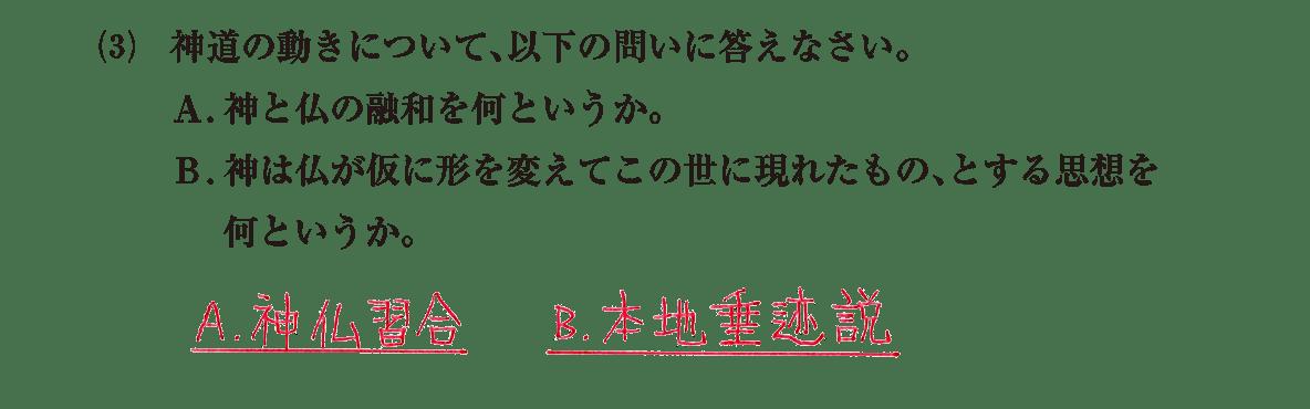 原始・古代文化15 問題2(3) 解答