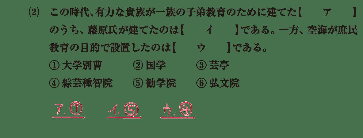 原始・古代文化18 問題1(2) 解答