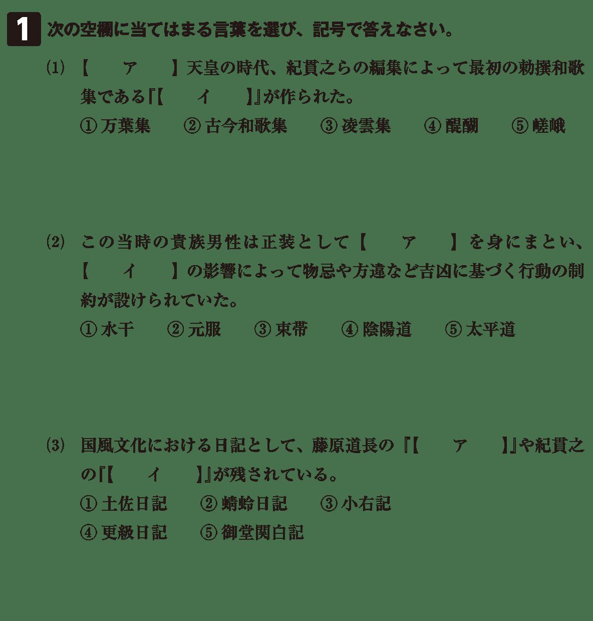 原始・古代文化24 問題1 問題