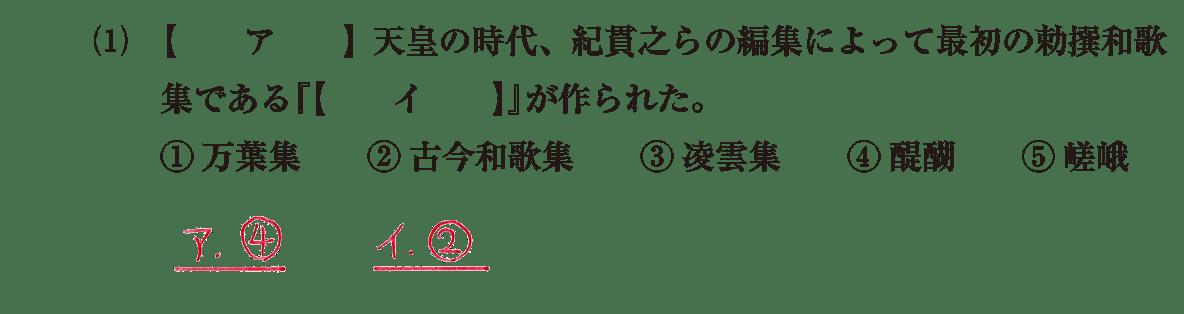 原始・古代文化24 問題1(1) 解答
