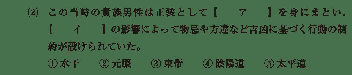 原始・古代文化24 問題1(2) 問題