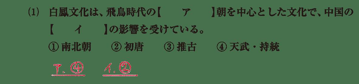 原始・古代文化6 問題1(1) 解答