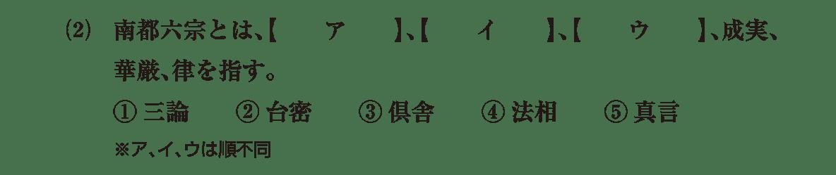 原始・古代文化9 問題1(2) 問題