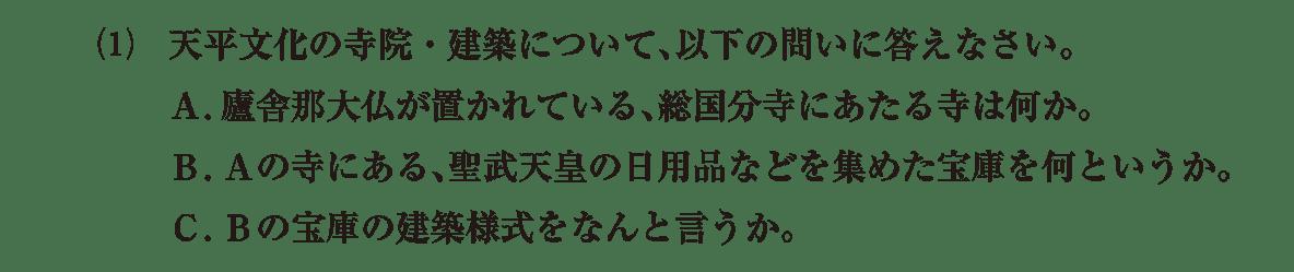 原始・古代文化9 問題2(1) 問題