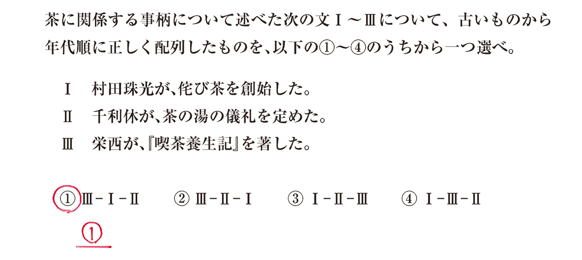 中世の文化27 問題3 解答
