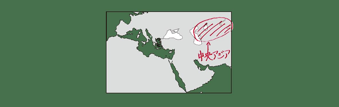 高校世界史 イスラーム世界4 ポ1 地図のみ/書き込みアリ