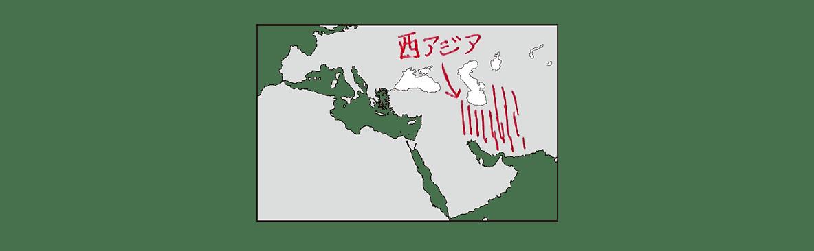 高校世界史 イスラーム世界4 ポ2 地図のみ/書き込みアリ