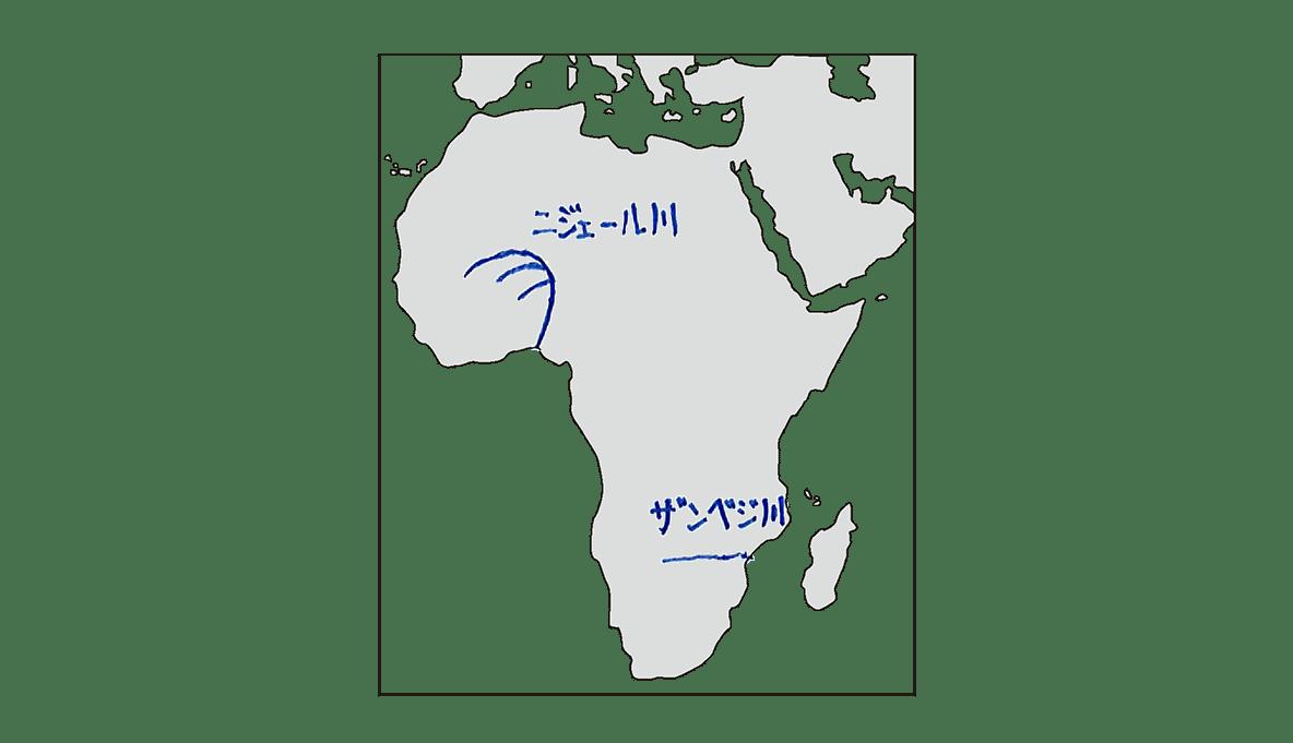 高校世界史 イスラーム世界5 ポ1 地図のみ/書き込みアリ