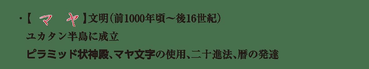 image04の続き3行/マヤ文明の説明