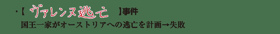 image02の続き2行/右頁上部/ヴァレンヌ~計画→失敗