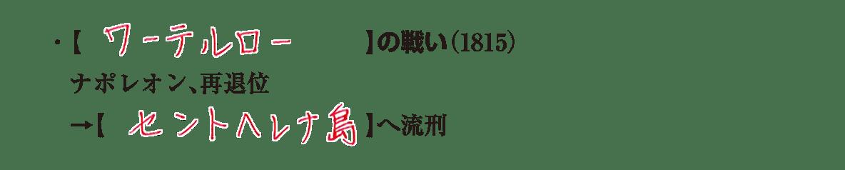 image04の続き3行/ワーテルロー~ヘレナ島へ流刑