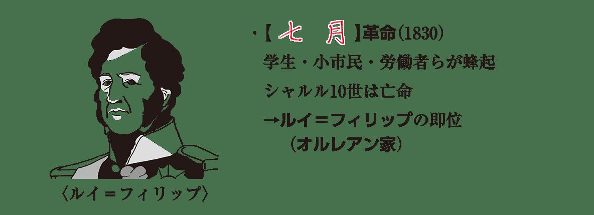 image02の続き5行+イラスト/七月革命~(オルレアン家)