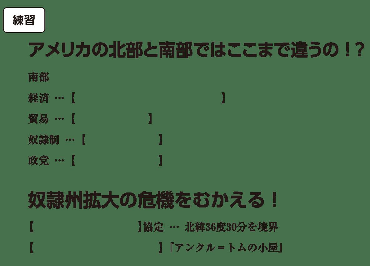 高校世界史 19世紀の欧米諸国(2)露・米4 練習 括弧空欄