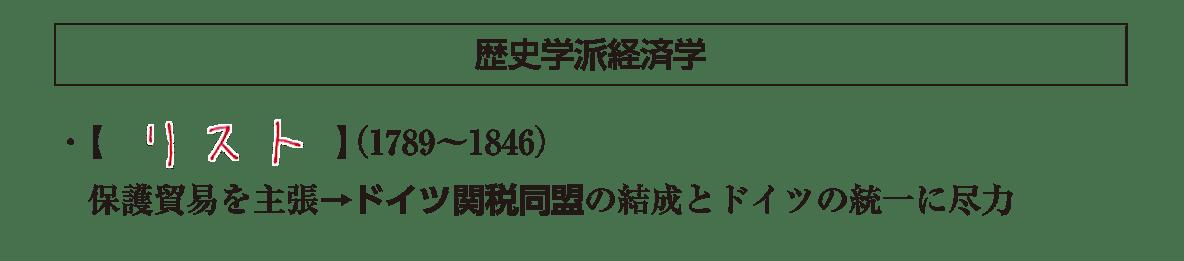 高校世界史 19世紀欧米諸国(3)4 ポイント1 答え全部
