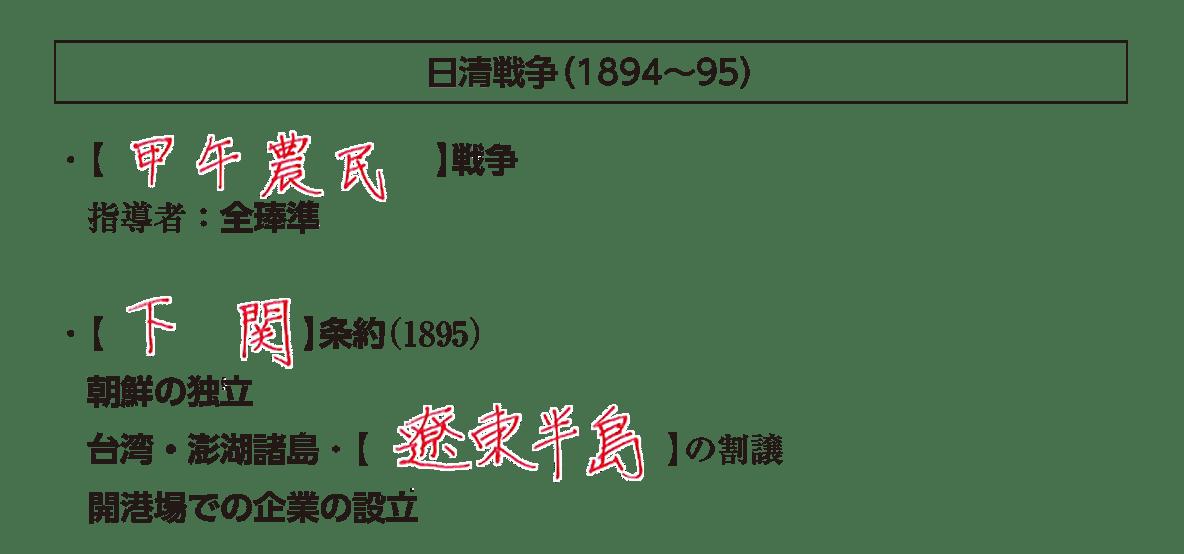 「日清戦争」見出し+テキスト6行/~企業の設立