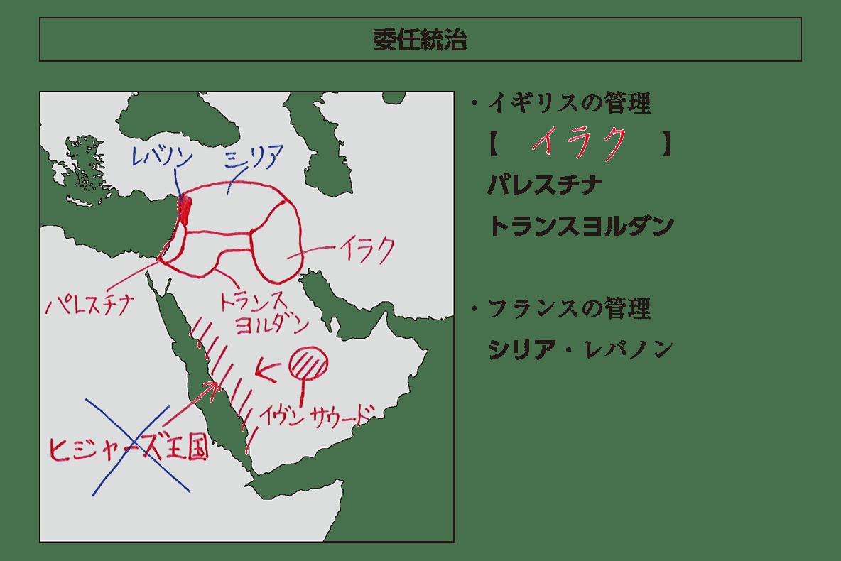 「アラビア独立」見出し+テキスト