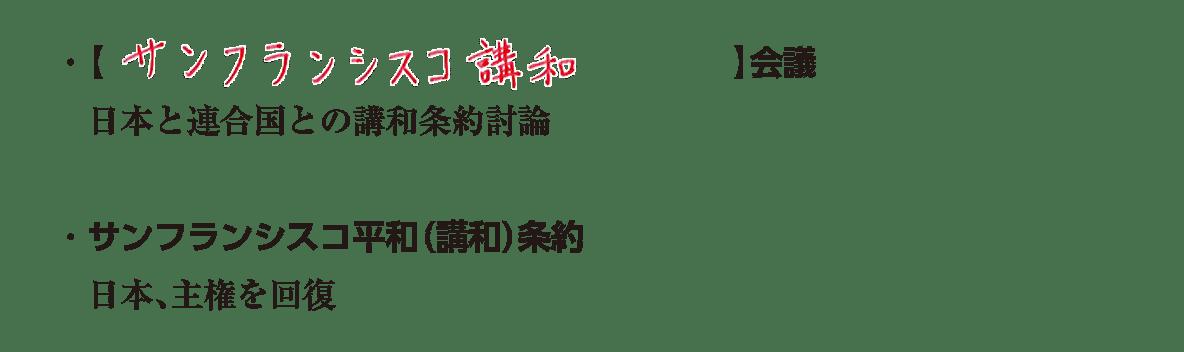 image03の続き3行/日本の非軍事化と民主化~日本国憲法の発布