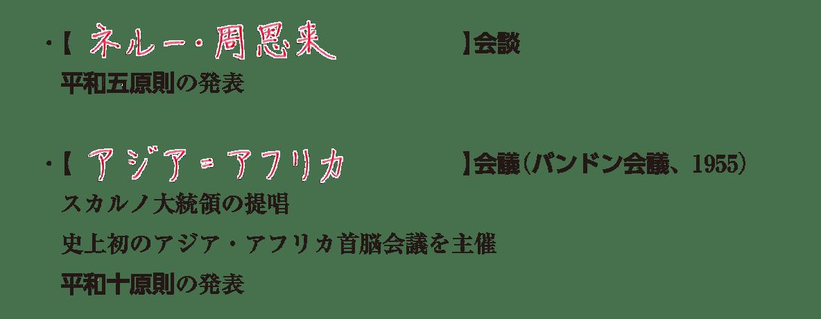image02の続き6行/ネルー・周恩来~平和十原則の発表
